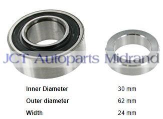 1400 Rear Wheel Bearing Kit